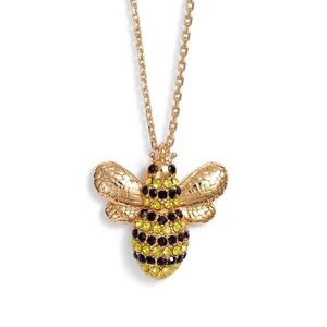 ♠️ kate spade Pave Bee Necklace NWT